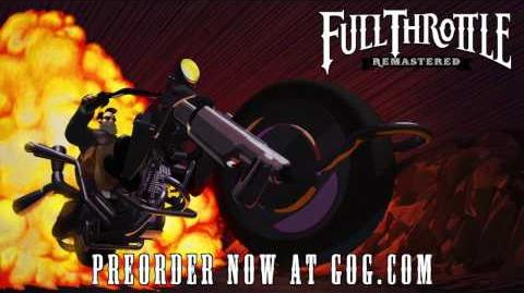 Pre-order Full Throttle Remastered on GOG