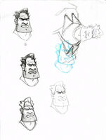 Ben's head concept art 1