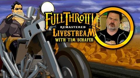 Full Throttle Remastered with Tim Schafer