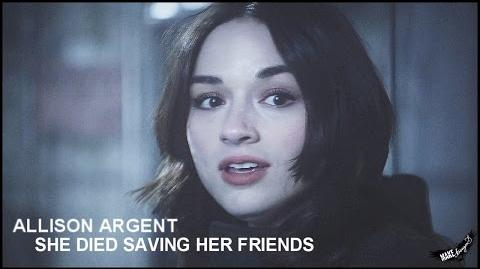 ► Allison Argent l She died saving her friends