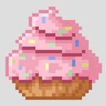 Pink cupcake img