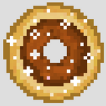 Chocolate donut img