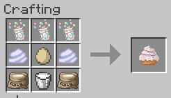 Vanilla cupcake