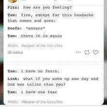 Tam's fears