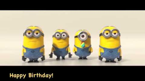 Minions Sing Happy Birthday-0