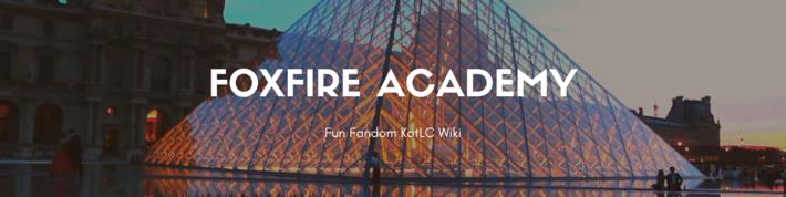 Foxfire Academy