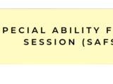 Foxfire Academy/Special Ability Focus Sessions