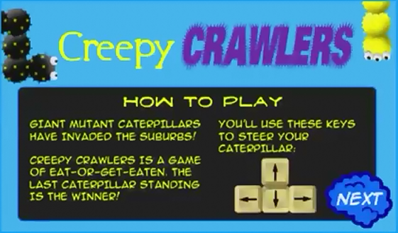 Creepy Crawlers Title