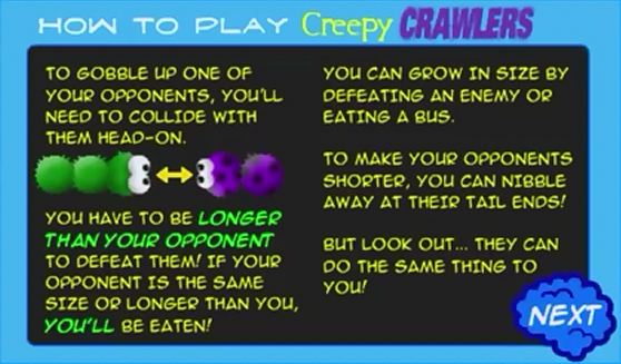 Creepy Crawlers Instructions