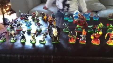 Skylander Collection (Elemental Groups) Nov '12