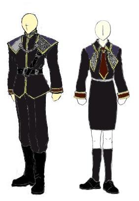 SeeD Uniforms