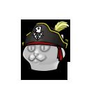 Meowy Pirate Hat FD