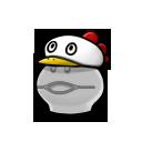 Snowy Chicken Hat FD