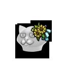 Meowy Flower Deco FD