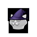 Meowy Wizard Hat FD