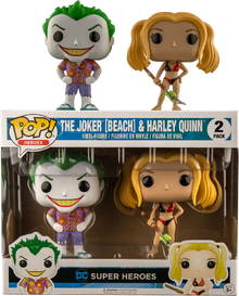 The Joker And Harley Quinn (Beach)