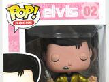 1950's Elvis (Metallic Gold Chase)