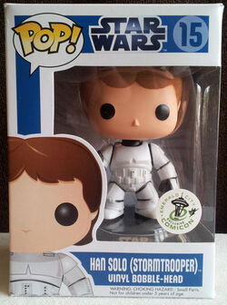Star Wars Pop! 15 Han Solo (Stormtrooper)