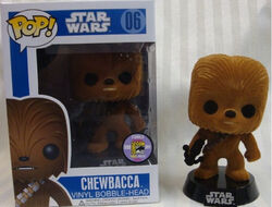 Star Wars Pop! 06 Chewbacca (Flocked)