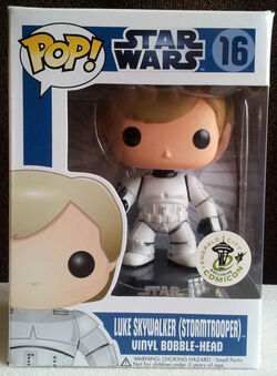 Star Wars Pop! 16 Luke Skywalker (Stormtrooper)