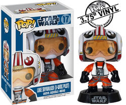 Star Wars Pop! 17 Luke Skywalker (X-Wing Pilot)
