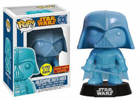 Star Wars Pop! 33 Holographic Darth Vader PE