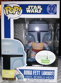 Star Wars Pop! 32 Boba Fett (Droids) SWCE