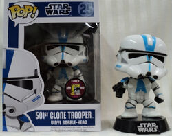 Star Wars Pop! 25 501st Clone Trooper