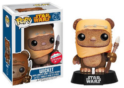 Star Wars Pop! 26 Wicket (Flocked)