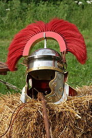 Roman centauri helmet