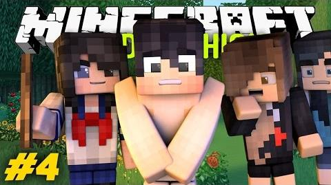 Yandere High Scool - THE NAKED SENPAI?!? -S1-Yandere High S1E4.4 Minecraft Roleplay-