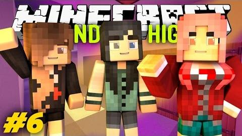 Yandere High School - THE NEW GIRL?! -S1-Yandere High S1E6.6 Minecraft Roleplay-