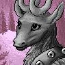 Reindeer Portrait F