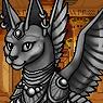 Mythical Ferian Sphynx Portrait U