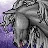 Mythical Ferian Unicorn Portrait M