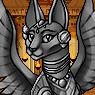 Mythical Ferian Sphynx Portrait F