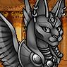 Mythical Ferian Sphynx Portrait M