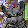 Evil Chinchilla Overlord Portrait F