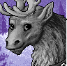 Reindeer Portrait M