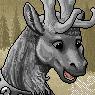 Reindeer Portrait U