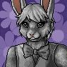 Easter Bunny Portrait M