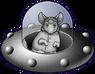Unidentified Flying Chinchilla Icon