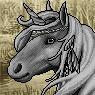 Mythical Ferian Unicorn Portrait U