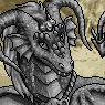Mythical Ferian Dragon Portrait U