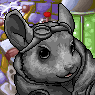 Evil Chinchilla Overlord Portrait U