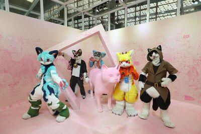 貓美術館 fursuit