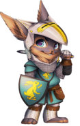 Knight rabbit