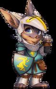 Knight rabbit