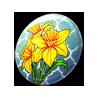 4433-daffodil-button