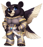 Angelic bear
